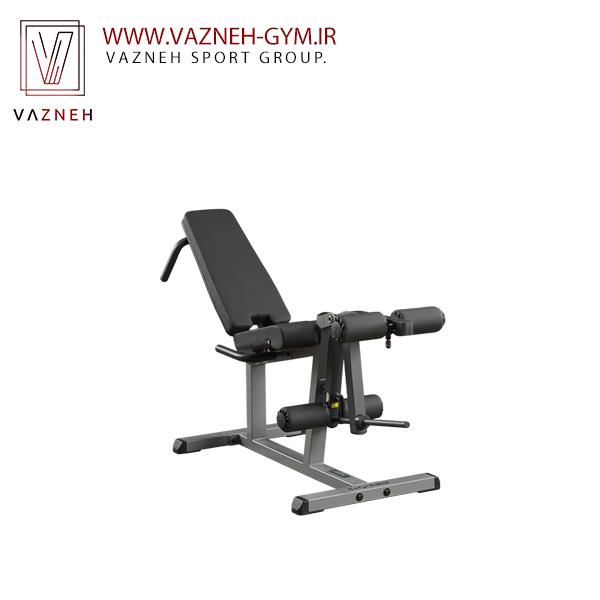 دستگاه جلو پا و پشت پا نشسته وزنه آزاد بادی سولید(GLCE365)