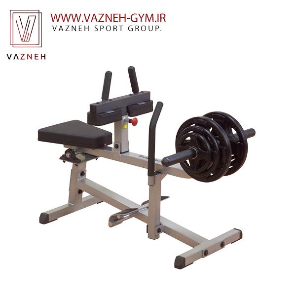 دستگاه ساق پا نشسته وزنه آزاد بادی سولید(GSCR349)