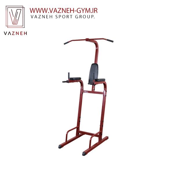 دستگاه بدنسازی شکم خلبانی و بارفیکس بادی سولید(BFVK10)