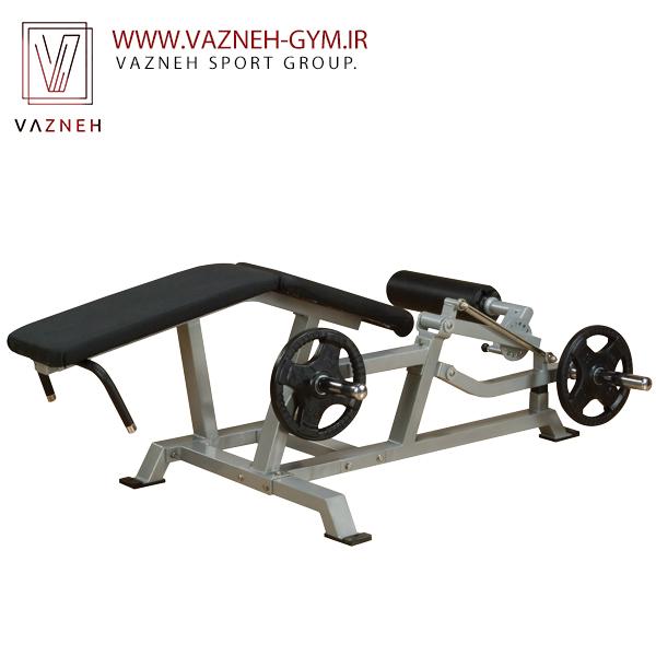 دستگاه بدنسازی پشت پا خوابیده وزنه آزاد(LVLC) بادی سولید سری پروکلاب لاین