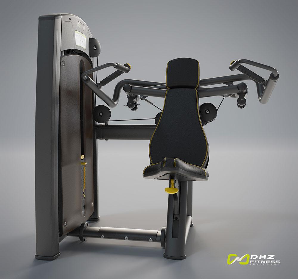 دستگاه بدنسازی پرس سرشانه سری الانت dhz fitness