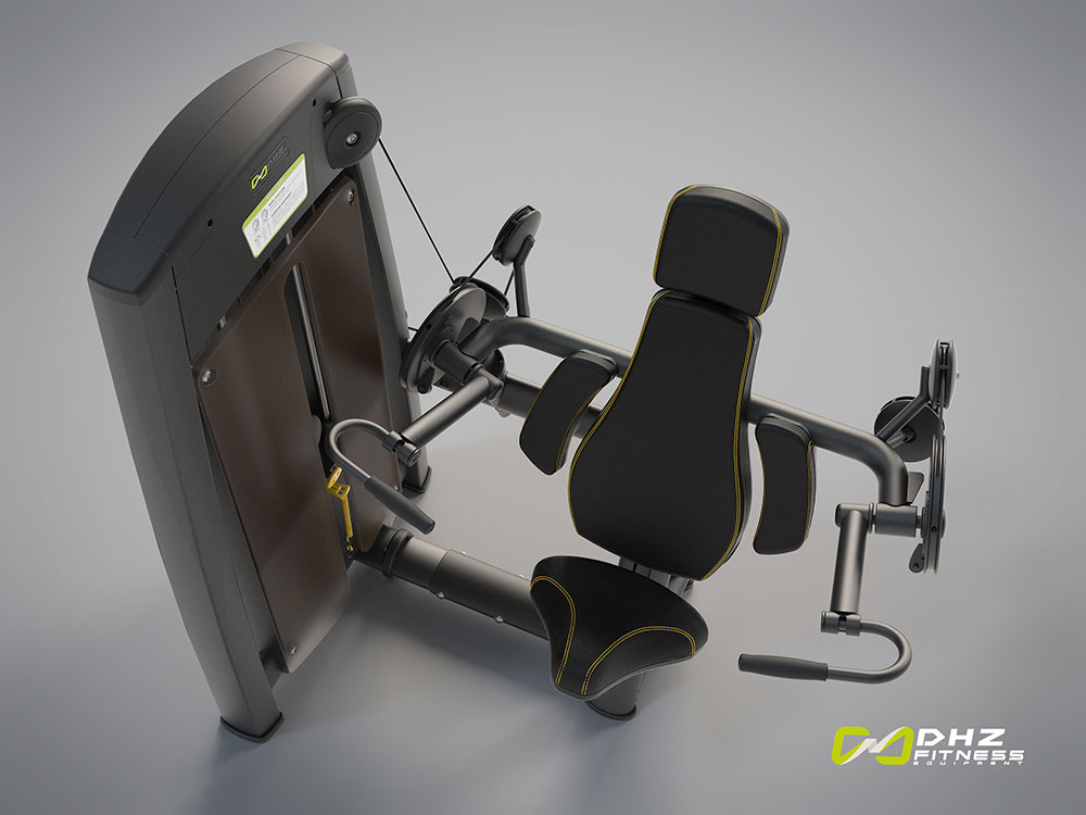 دستگاه بدنسازی جلو بازو تک دست سری الانت dhz fitness
